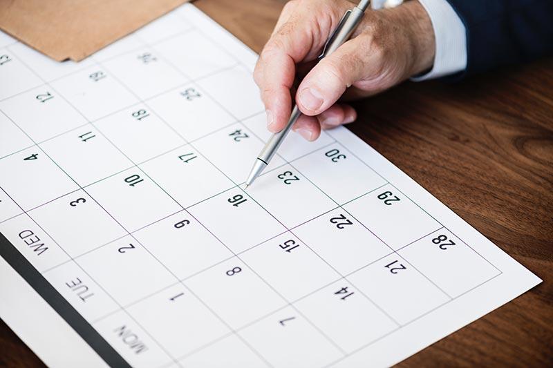 calendario fiscal del autónomo 2020